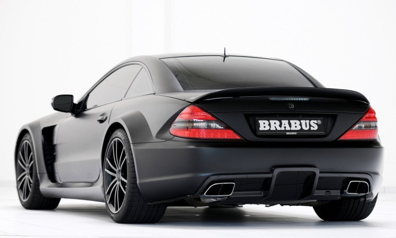 BRABUS VANISH SL Black Series 11