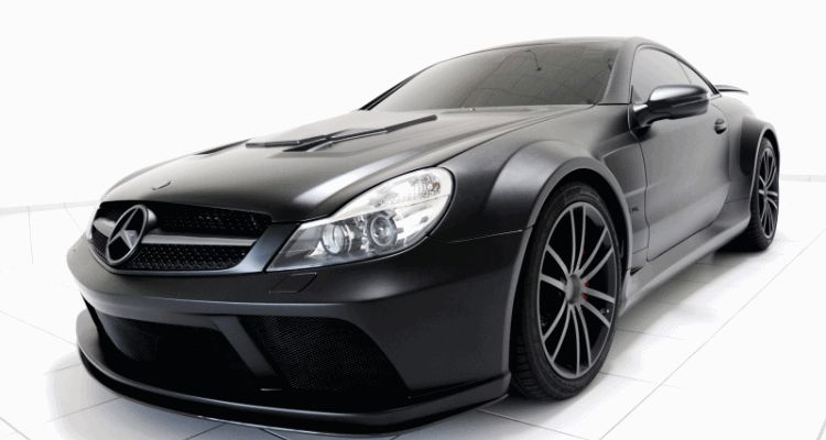 BRABUS VANISH SL Black Series GIF header1