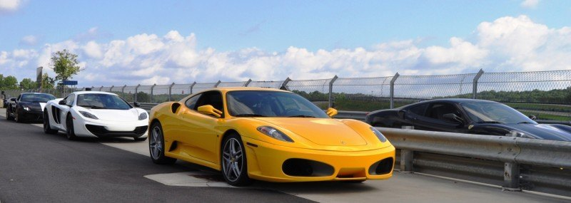 Beating the Supercar Paradox - 2007 Ferrari F430 at Velocity Motorsports Supercar Track Drive 12