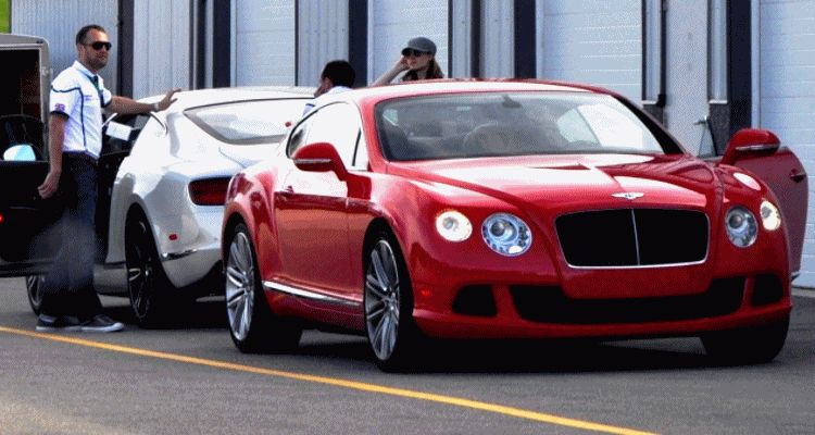 Bentley GT W12 Speed GIF header