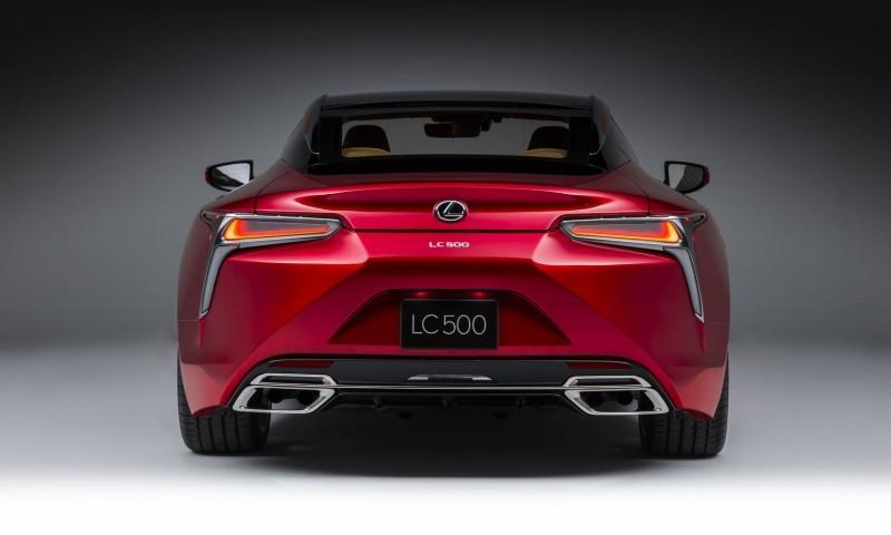 Best of NAIAS - 2017 Lexus LC500 20