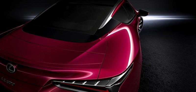 Best of NAIAS - 2017 Lexus LC500 34