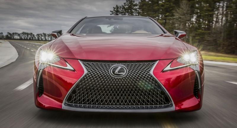 Best of NAIAS - 2017 Lexus LC500 7