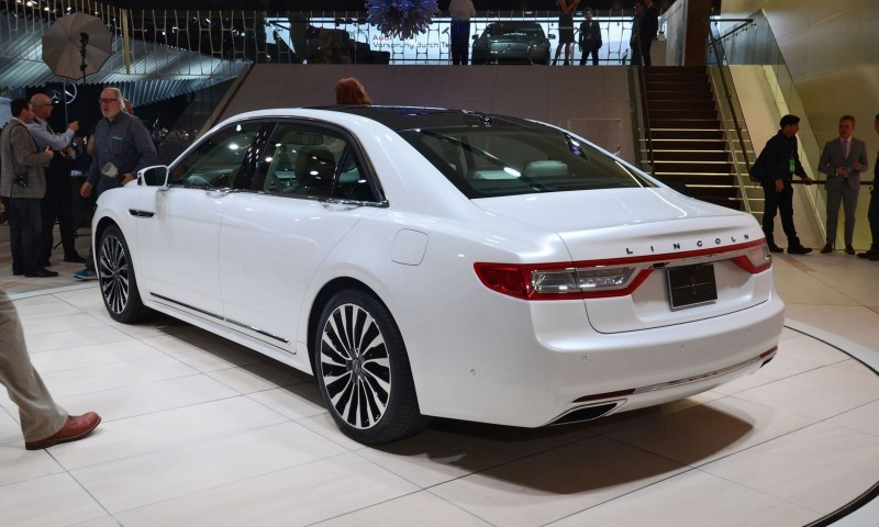 Best of NAIAS - 2017 Lincoln CONTINENTAL Limo 46