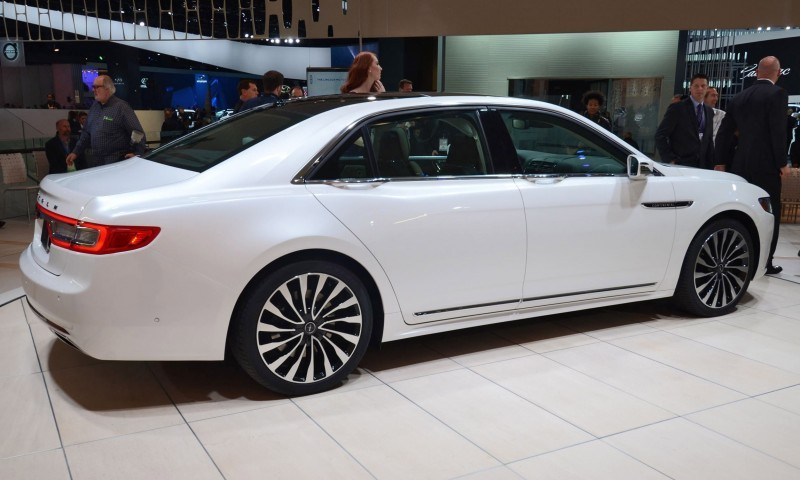 Best of NAIAS - 2017 Lincoln CONTINENTAL Limo 49