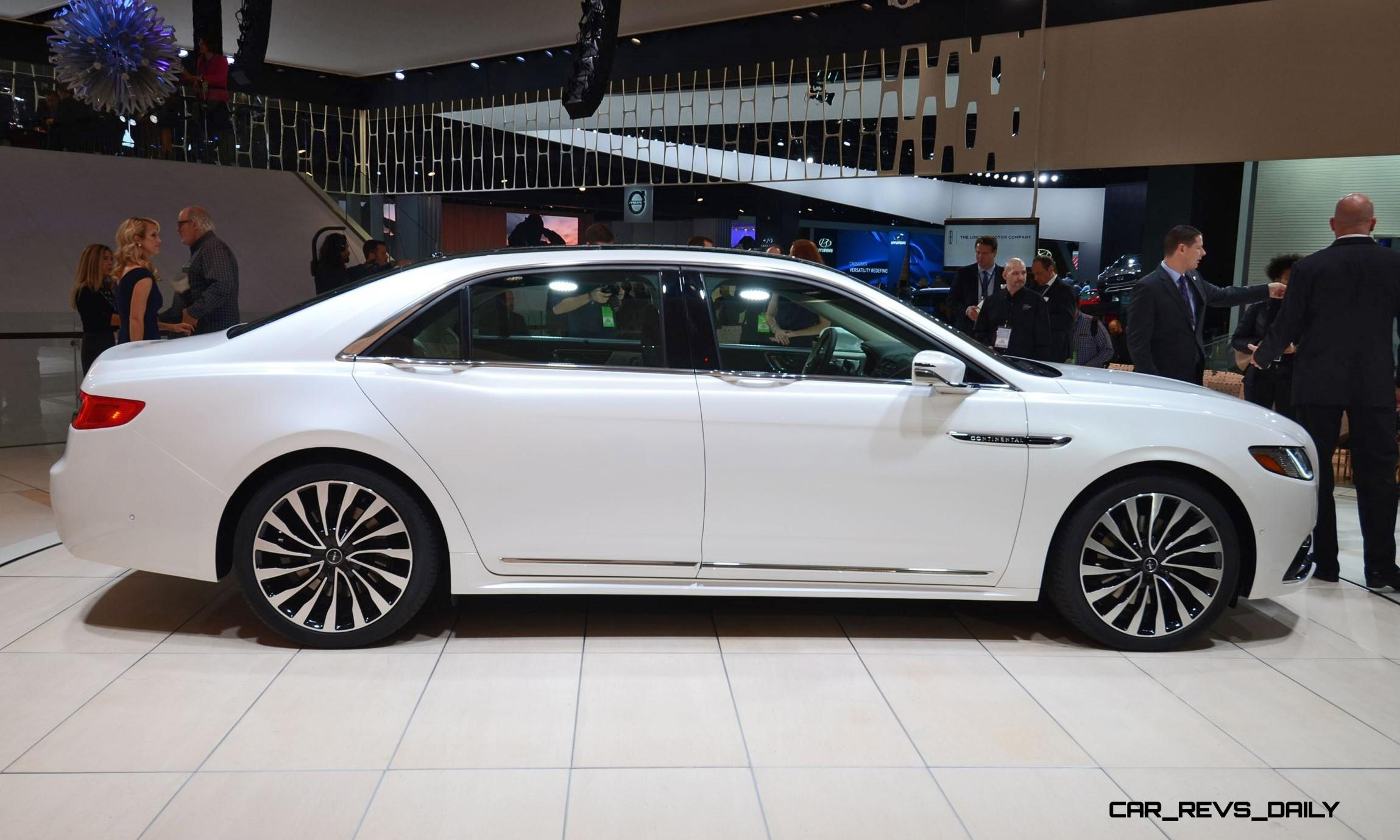 best of naias 2017 lincoln continental no apologies flagship limo heaven car revs. Black Bedroom Furniture Sets. Home Design Ideas