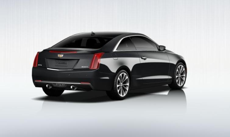 Black 2015 Cadillac ATS Coupe Premium 11