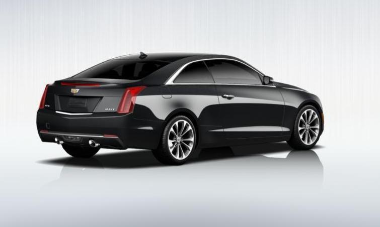 Black 2015 Cadillac ATS Coupe Premium 12