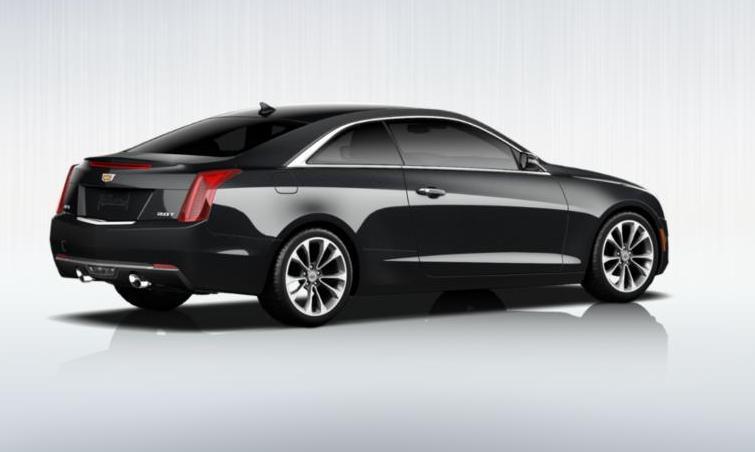 Black 2015 Cadillac ATS Coupe Premium 13