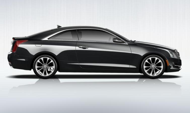 Black 2015 Cadillac ATS Coupe Premium 17