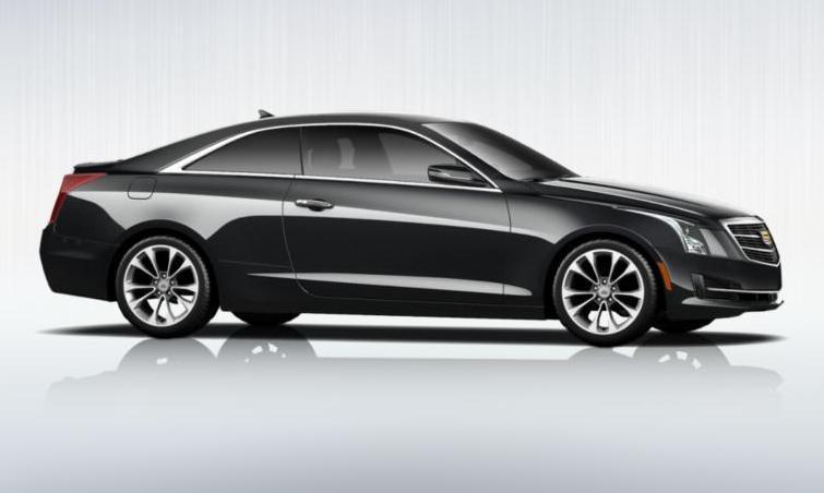 Black 2015 Cadillac ATS Coupe Premium 19