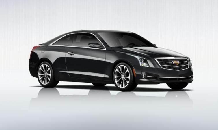 Black 2015 Cadillac ATS Coupe Premium 22