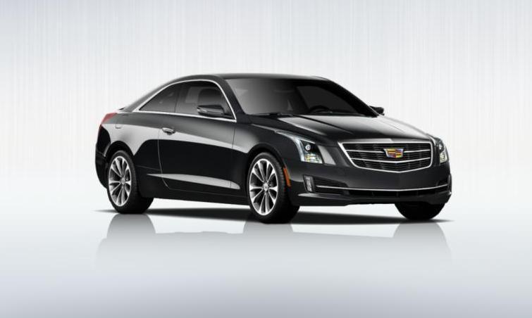 Black 2015 Cadillac ATS Coupe Premium 23