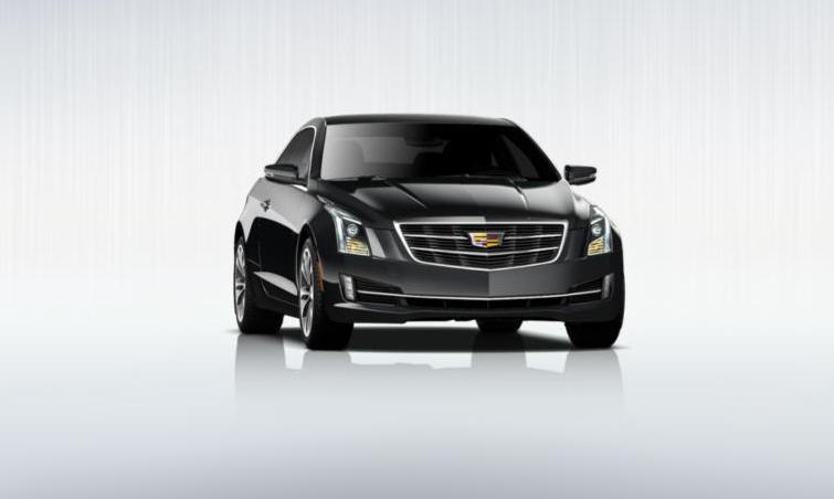 Black 2015 Cadillac ATS Coupe Premium 25