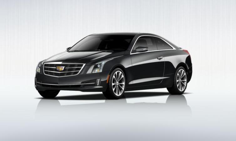 Black 2015 Cadillac ATS Coupe Premium 29