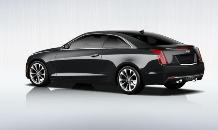 Black 2015 Cadillac ATS Coupe Premium 3