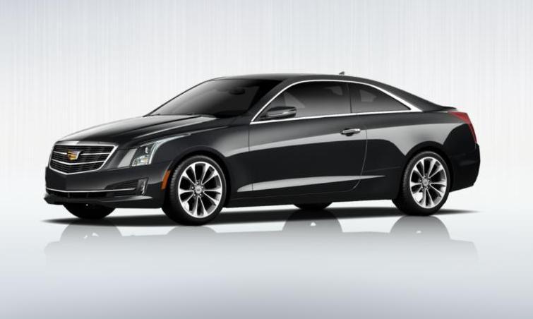 Black 2015 Cadillac ATS Coupe Premium 31