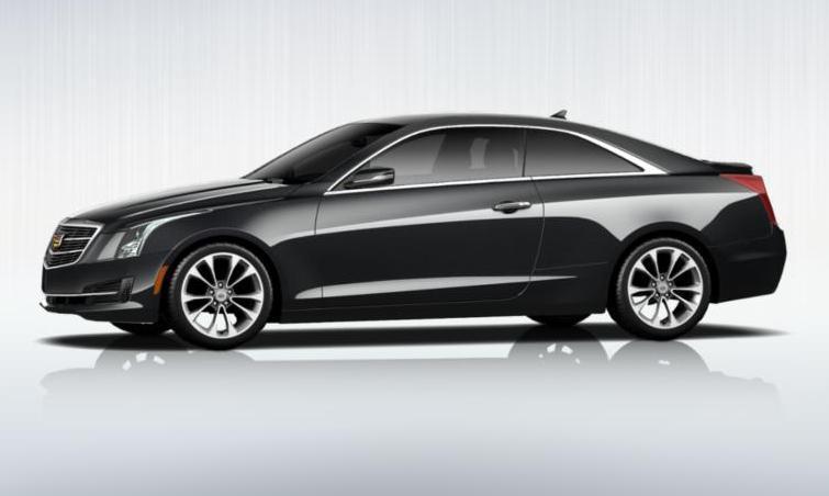 Black 2015 Cadillac ATS Coupe Premium 33