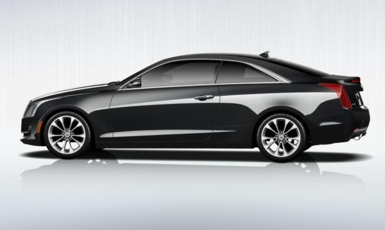 Black 2015 Cadillac ATS Coupe Premium 36