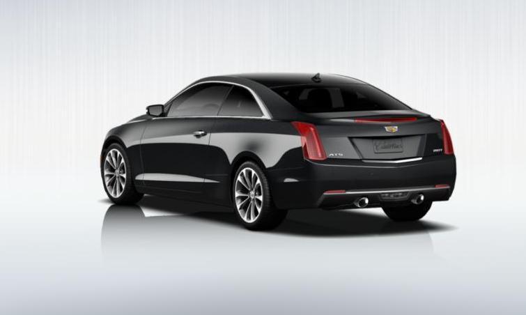 Black 2015 Cadillac ATS Coupe Premium 5