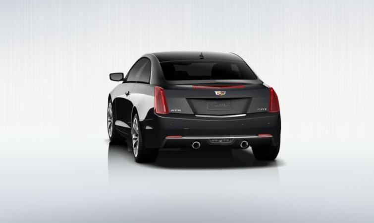 Black 2015 Cadillac ATS Coupe Premium 7