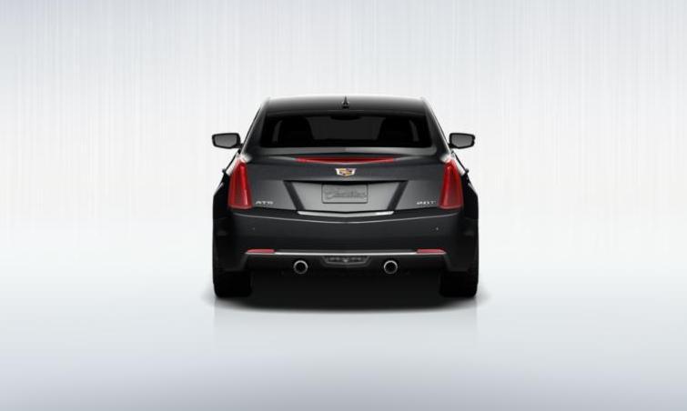 Black 2015 Cadillac ATS Coupe Premium 8