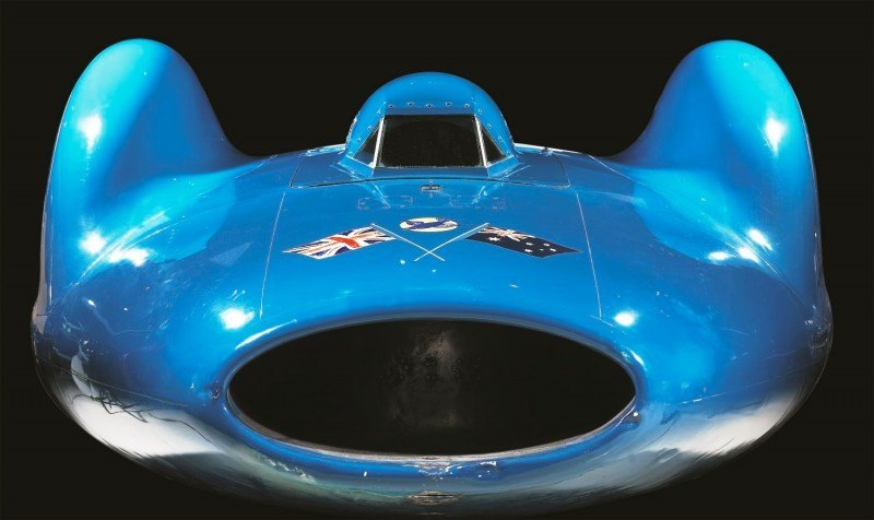 Bluebird V and Bluebird CN7 Reunited and Viewable by Public at Beaulieu National Motor Museum 19