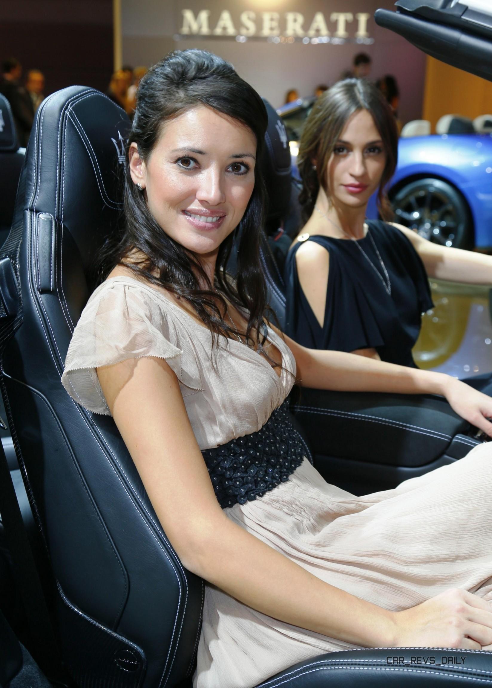 Countryside Auto Sales >> Booth Babes Showcase - Paris 2012
