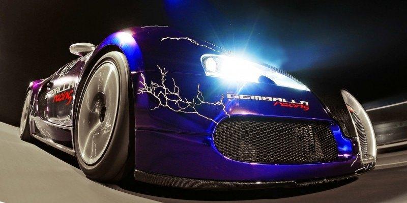 Bugatti Veyron Lightning Wrap by CAM SHAFT for Gemballa GmbH 1