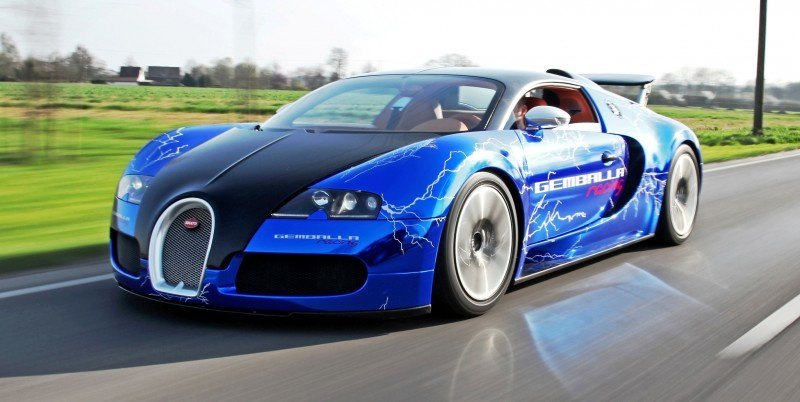 Bugatti Veyron Lightning Wrap by CAM SHAFT for Gemballa GmbH 10