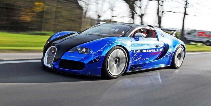 Bugatti Veyron Lightning Wrap by CAM SHAFT for Gemballa GmbH 11