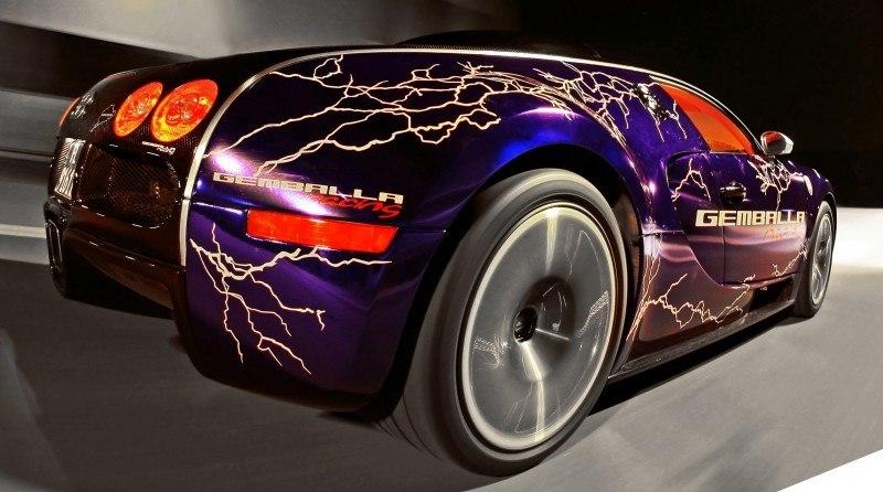 Bugatti Veyron Lightning Wrap by CAM SHAFT for Gemballa GmbH 12