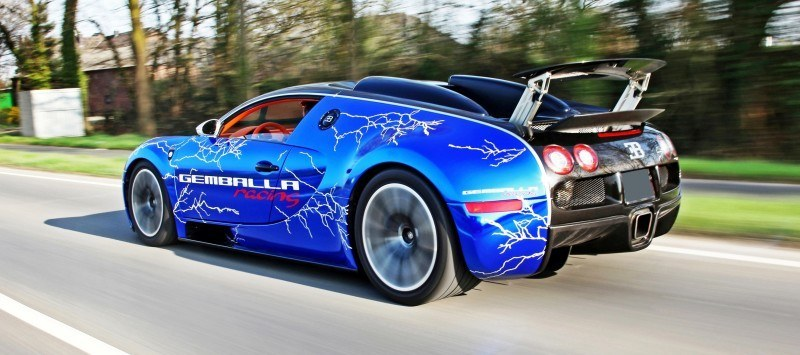 Bugatti Veyron Lightning Wrap by CAM SHAFT for Gemballa GmbH 13
