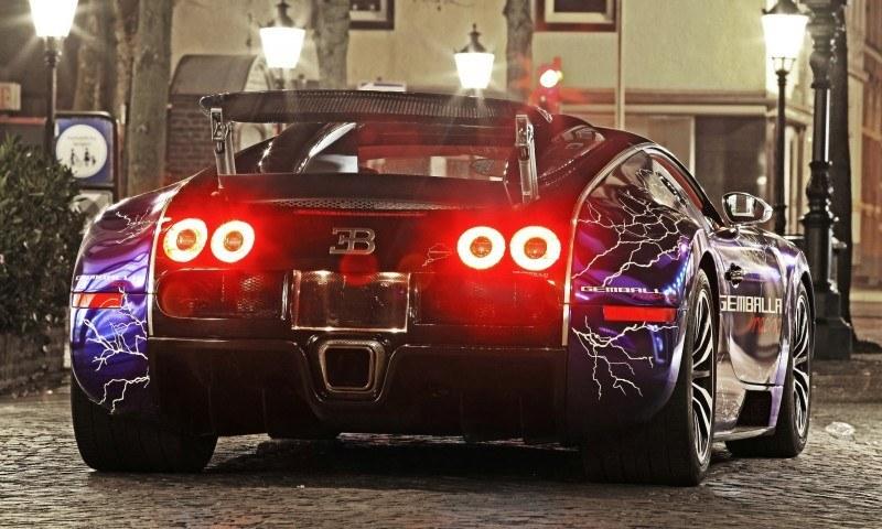 Bugatti Veyron Lightning Wrap by CAM SHAFT for Gemballa GmbH 16