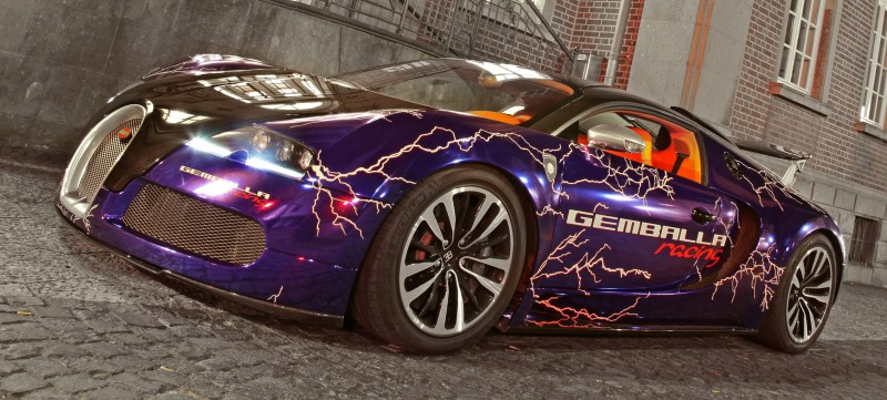Bugatti Veyron Lightning Wrap by CAM SHAFT for Gemballa GmbH 17