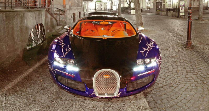 Bugatti Veyron Lightning Wrap by CAM SHAFT for Gemballa GmbH 18