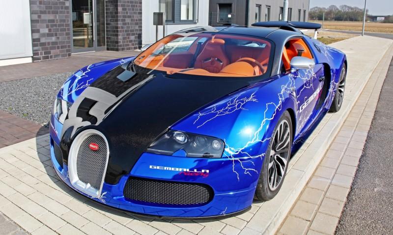 Bugatti Veyron Lightning Wrap by CAM SHAFT for Gemballa GmbH 2