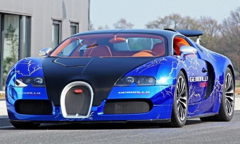 Bugatti Veyron Lightning Wrap by CAM SHAFT for Gemballa GmbH 20
