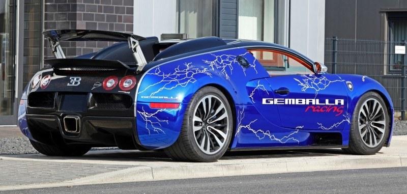 Bugatti Veyron Lightning Wrap by CAM SHAFT for Gemballa GmbH 3