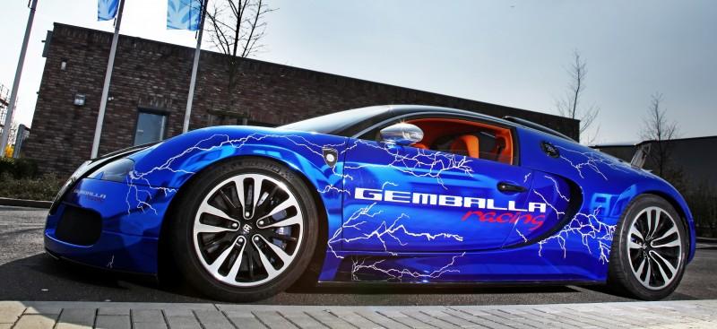 Bugatti Veyron Lightning Wrap by CAM SHAFT for Gemballa GmbH 5