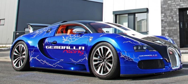 Bugatti Veyron Lightning Wrap by CAM SHAFT for Gemballa GmbH 7
