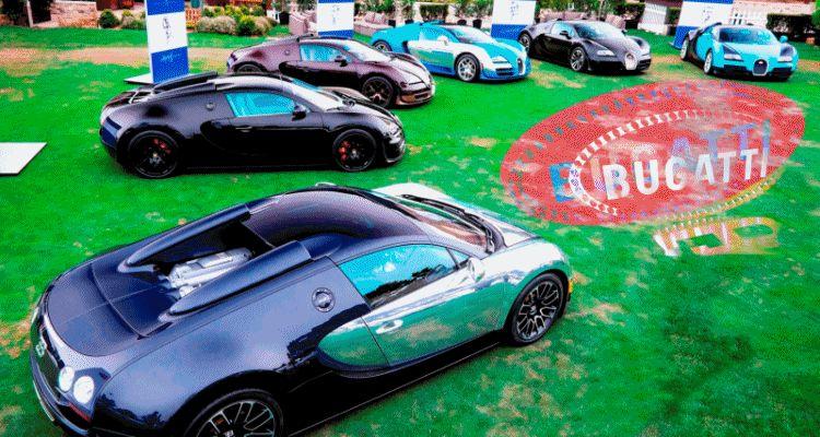 Bugatti Veyron legends header gif