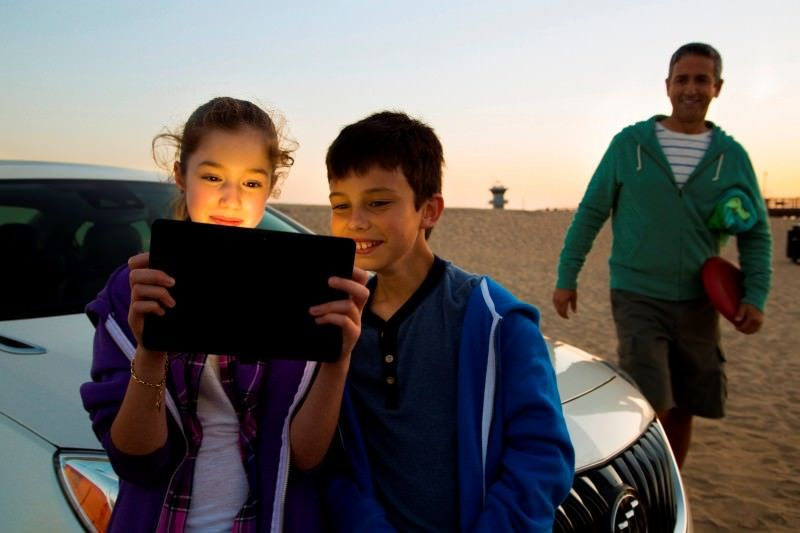 Buick 4G LTE kids