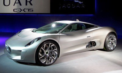 Canned Hypercar Debrief - 2010 JAGUAR C-X75 Is Too Sexy For Its Turbines 17