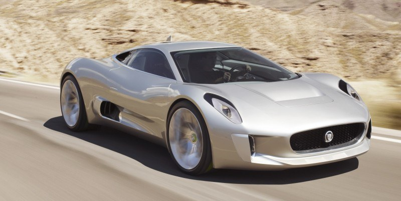 Canned Hypercar Debrief - 2010 JAGUAR C-X75 Is Too Sexy For Its Turbines 21