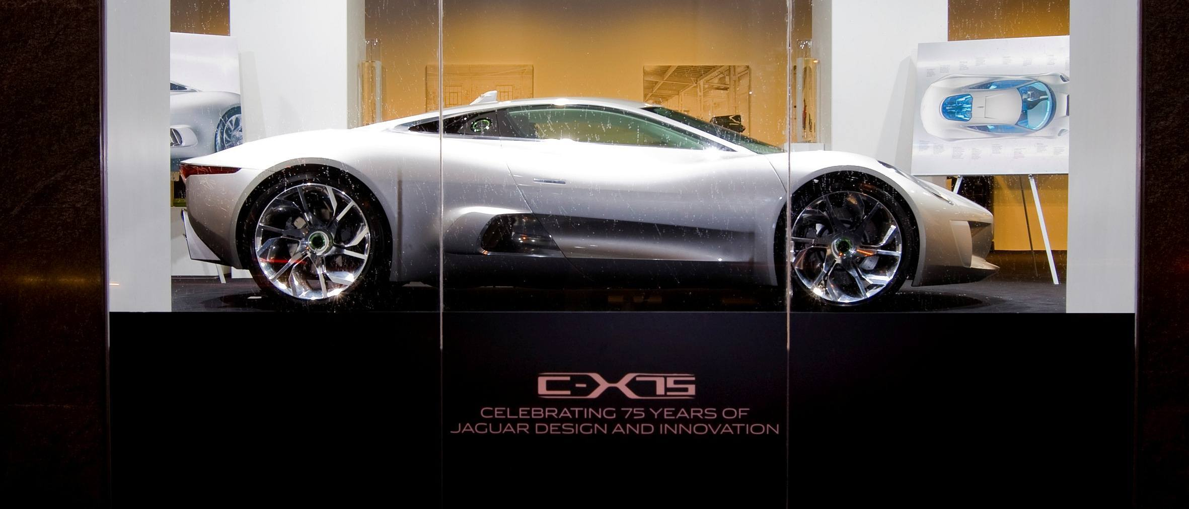 ... Canned Hypercar Debrief   2010 JAGUAR C X75 Is Too Sexy For Its  Turbines 9 ?