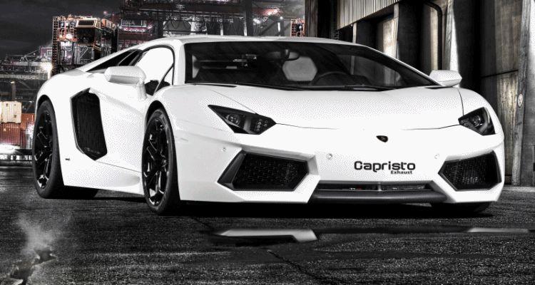 Capristo Aventador Exhaust gif1