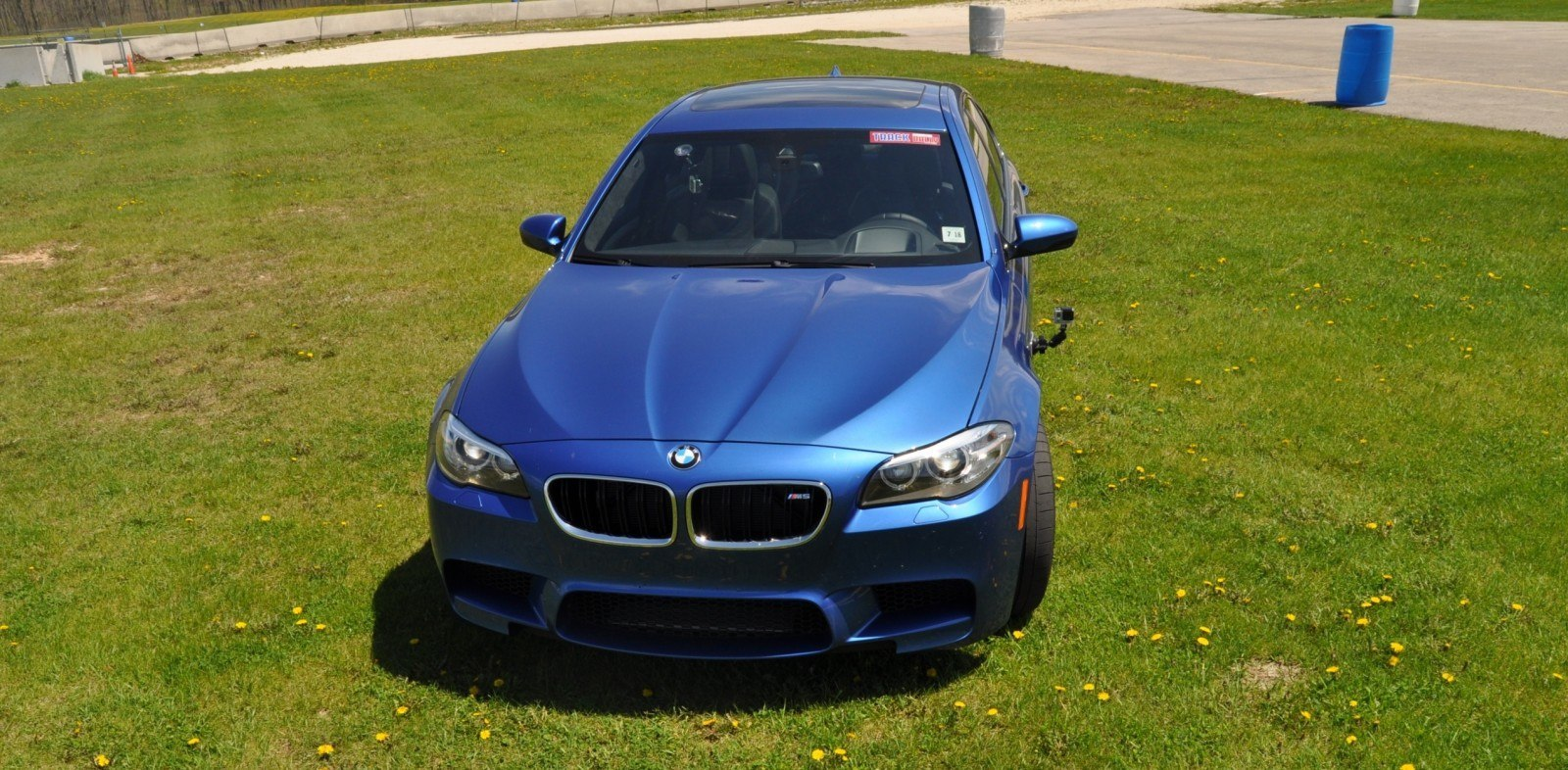 Car-Revs-Daily Track Tests 2014 BMW M5 49