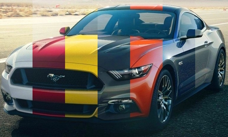 Cost To Paint A Car >> 2015 Ford Mustang Colors and Wheel Visualizer