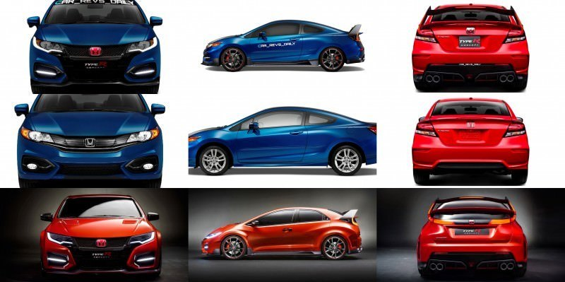 Car-Revs-Daily-vert 2016 USA Honda Civic Type R Renderings